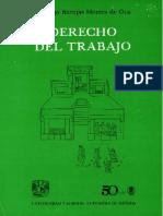 286 - Derecho Del Trabajo - Santiago Barajas Montes de Oca