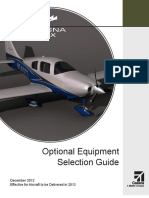 Cessna TTx - Optional Eqipment