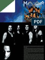 Gods of War Booklet