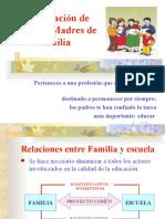 participación de padres y madres