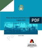 Plano de Desenvolvimento Industrial Angola 2025_para Consulta