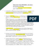 Fin explication extrait 2 Montaigne