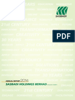 SASBADI - Annual Report 2014