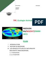 TPE Ecologie animale