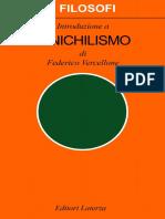 Federico Vercellone - Introduzione a Il Nichilismo (1992, Laterza) - Libgen.lc