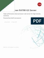 H3C UniServer R4700 G3 Rack Server Data Sheet