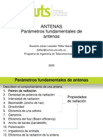 4. Parámetros Fundamentales de Antenas