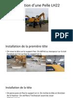 Installation d'Une Pelle LH22 (2)