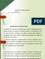 Présentation de l'eurocode 0 à 3