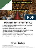 Tendências da Prosa Portuguesa