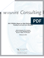 2011 Wilshire Report on State Retirement Systems