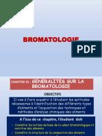 BROMATOLOGIE Ch 1_Généralités Et Méthodologies Danalyse