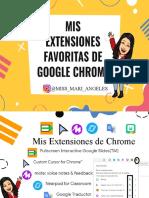 Mis Extensiones de Chrome