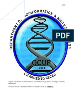 Logo of Depatment of Bioinformatics and Biotechnology of Govt Colllege University Faisalbad