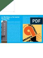 La Bauhaus y la nueva tipografía