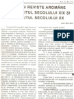 Gica G.- Ziare şi reviste aromâne