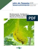 Corynespora em mamoeiro