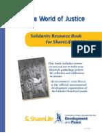 Share Life Solidarity Book