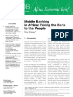 Mobile Banking in Africa - Taking the Bank to the People