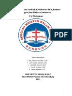 Laporan Ujian Praktik Kolaborasi IPA,Bahasa Inggris,Dan Bahasa Indonesia