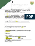 Ficha PERSONAL DE DIAGNOSTICO EMOCIONAL 2021