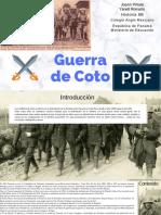 Guerra de Coto