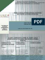 Marco legal Internacional  UPDF