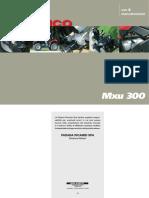 MXU300 Service manual