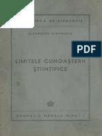 Alexandru-Mironescu - Limitele Cunoasterii Stiintifice_pdf