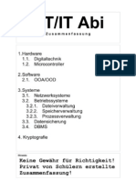 Zusammenfassung Abitur ITG