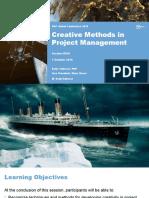 Creative Methods in Project Management - Global Congress presentation by Denis Vukosav