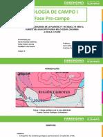 GEOLOGÍA DE CAMPO I PREINFORME