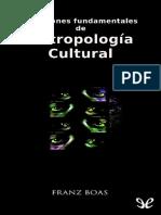 Cuestiones fundamentales de antropologia cultural