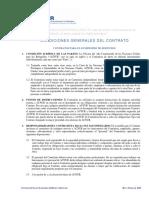 Anexo C. Condiciones Gen de Contrato para la Prestación de Servicios(1)