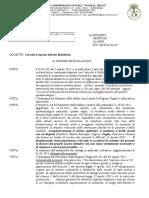 Circolare Erogazione Didattica Dal 7 Aprile 2021
