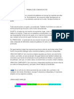 TRABAJO DE COMUNICACION Y LENGUAJE  2