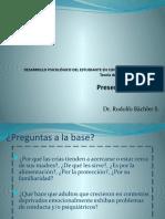 Presentacion Nº 5 Teoría Del Apego y Desarrollo