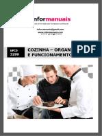 Manual Ufcd 3299 - Cozinha - Organização e Funcionamento