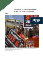 Florida $15 Min Wage