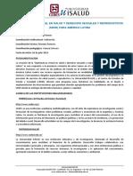 PROGRAMA - DIPLOMATURA EN SALUD SEXUAL Y DERECHOS SEXUALES REPRODUCTIVOS 2019