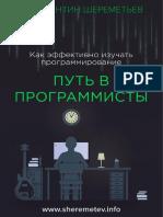 Путь в программисты
