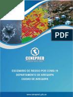 10386 Escenario de Riesgo Por Covid 19 Para La Ciudad de Arequipa en El Departamento de Arequipa