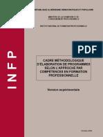 Cadre méthodologique d'élaboration de programme conçus par l'APC_by amaryk