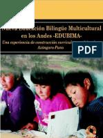 Nueva educación bilingüe multicultural en los andes – EDUBIMA