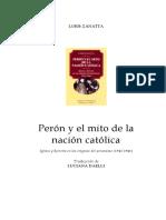 ZANATTA L - Peron y El Mito de La Nacion Catolica