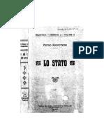 Petr Kropotkin - Lo stato, introduzione di Luigi