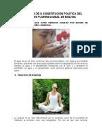 PRINCIPIOS DE A CONSTITUCIÓN POLÍTICA DEL ESTADO PLURINACIONAL DE BOLIVIA 32