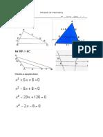 Atividade de matematica TRIANGULOS
