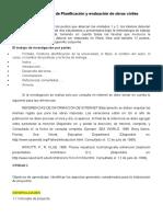 1er Parcial de Planificacion y evaluación de obras