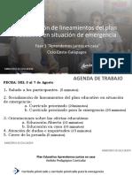 Presentación lineamientos plan educativo_semana_14